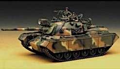1355 M48A5 Patton ROK, USA 1/35 Scale Model Kit 603550013553