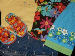 44 PIECE LOT GIRLS SPRING SUMMER CLOTHES SIZE 2T 3T OUTFITS SETS