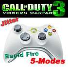 Xbox 360 5 Mode Adjustable Rapid Fire Speed Modded Controller Jitter