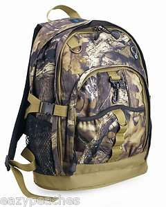 MOSSY OAK Camo Break Up Heavy Duty Hunting Fishing Backpack Bag B1817