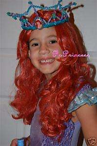 DISNEY Princess ARIEL YOUTH LITTLE MERMAID COSTUME WIG