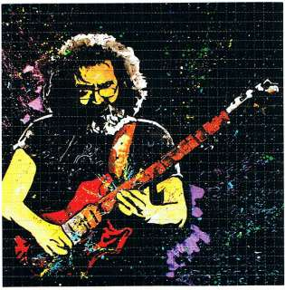 Jerry Garcia BLOTTER ART psychedelic Grateful Dead |