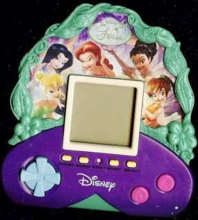 DISNEY FAIRIES ELECTRONIC HANDHELD TOY GAME ZIZZLE ★