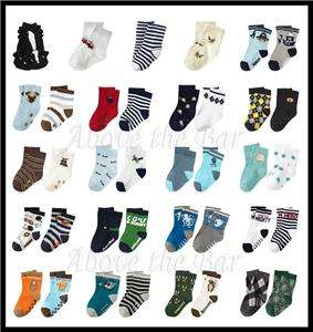 NWT Gymboree Baby Toddler Boys Socks Many Lines & Sizes U Pick