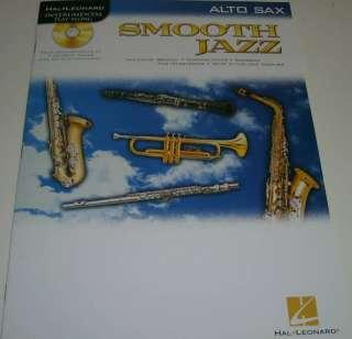 SMOOTH JAZZ, Instrumental Play Along Book/CD, ALTO SAX