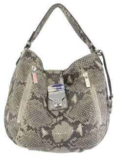 Michael Kors Jenna Large Tote Dark Sand Handbag New
