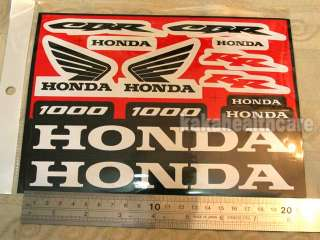 Honda CBR 1000 RR CBR1000 Emblem Badge Stickers Label f