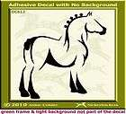 Clydesdale Draft Horse Window Trailer Decal Sticker 420