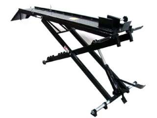 1000 LB HYDRAULIC MOTORCYCLE LIFT TABLE JACK STAND SHOP