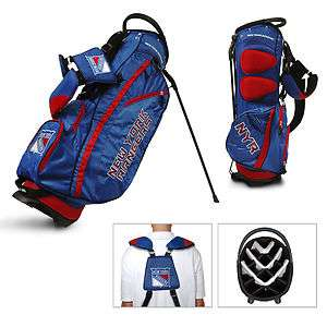 NHL NEW YORK RANGERS Fairway Stand Golf Bag