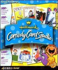 Hallmark Comedy Card Studio PC CD personalized custom funny comic
