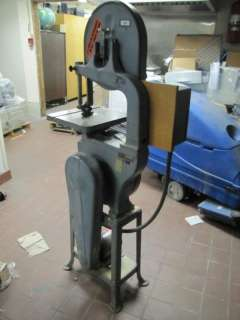 Vintage Delta Rockwell 14 Band Saw Circa 1955 208 220/440VAC 3PH