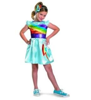 My Little Pony Rainbow Dash Classic Costume Dress w/Headband Toddler