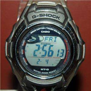 NEW G SHOCK CASIO MODEL NUMBER 2608 2638 2688 MENS WATCH WITH MANUAL