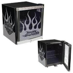 Harley Davidson Flames Kühlschrank  Baumarkt