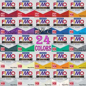 oz) FIMO Effect Polymer Clay   pâte à modeler / Pasta Para Hornear