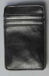 RVCA The Magic Wallet IV in Black Grey  Karmaloop   Global