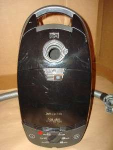 Miele Solaris Electro Plus Canister Vacuum Cleaner S 514 Black  w