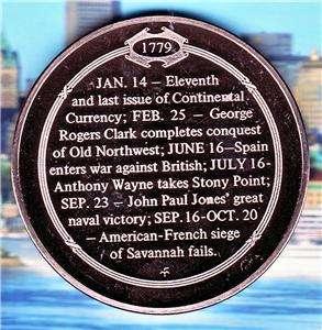 John Paul Jones Great Naval Victory 9/23/1779 Medal