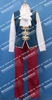 Gyakuten Saiban Reiji Mitsurugi Cosplay Costume Size M