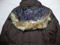 Women Columbia Titanium Ski Snowboard Faux Fur Hoodie Down Jacket Coat