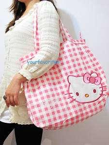 Hello Kitty BIG shopping tote bag handbag