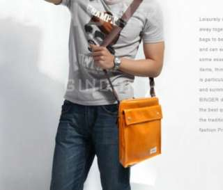 PU Leather Case Pouch Messenger Bag for Apple iPAD 2 YL