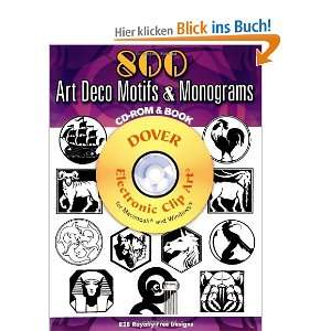 500 Art Deco Motifs and Monograms (Dover Electronic Clip Art)