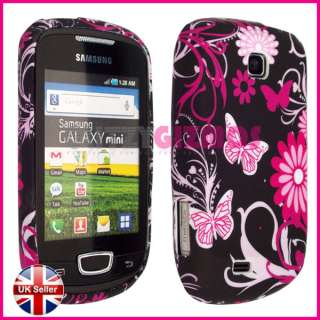 PINK GEL SILICONE COVER CASE FOR SAMSUNG GALAXY MINI S5570
