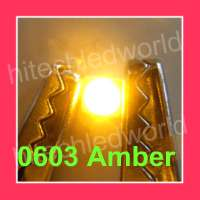 100p SMD SMT 0805 Warm White LED Lamp Light 2500mcd
