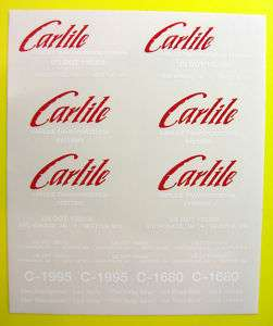 Tamiya 1/14 Truck Carlile ice road stickers decals