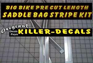 BAG KIT STRIPES FOR 2003 HARLEY DAVIDSON ANNIV. MOTORCYCLE