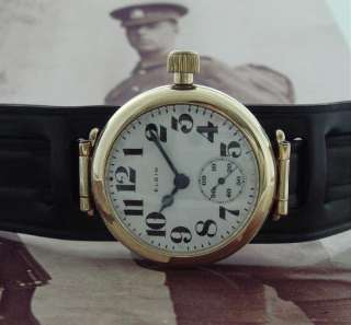timepiece with movement dated late 1911 is as fine an early war era