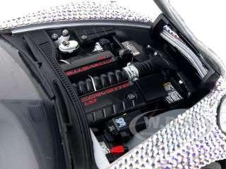 Brand new 124 scale diecast car model of Chevrolet Corvette C6