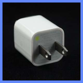 USB WALL CHARGER WITH CABLE IPHONE 4S 4 3GS FIT OTTERBOX