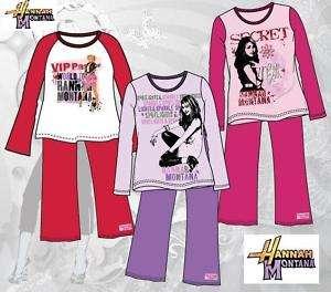 Mädchen Kinder Pyjama Nachthemd von HANNAH MONTANA NEU