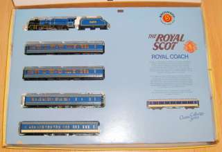 VINTAGE BACHMANN HO TRAIN SET   THE ROYAL SCOT   COMPLETE IN BOX *VERY