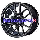 18 XXR 526 Flat Black Lip Rims Staggered Wheels Stance 04 Ford Mustang