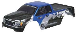 NEW HPI Racing Truck Pntd Body Grey/Black/Blue Sav/T Maxx 7754 NIB