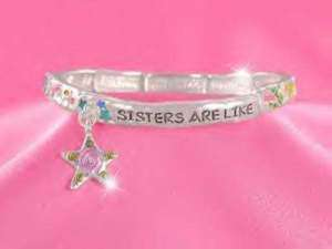 SISTER FAMILY STAR FRIEND LOVE GIFT CHARM BRACELET 412