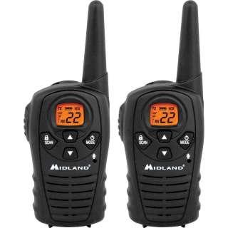 MIDLAND XT22 22 MILE GMRS RADIO PAIR PACK (TWO WAY RADIOS/SCANNERS
