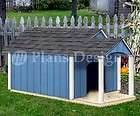 Plans, Gable Twin Roof Style with Porch, 90305T, Size up to 150 lbs
