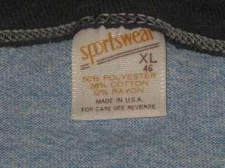 vintage 80s RAYON TRI BLEND VIRGINIA BOY SCOUTS RINGER T Shirt LARGE