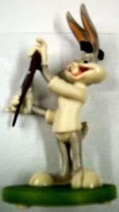 Looney Tunes Goebel Bugs Bunny Barber Statue MIB 1997