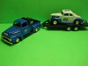 WIX 1951 FORD PICK UP TRUCK 1940 FORD COUPE W/TRAILER ERTL MIB NEW 1