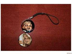CHUCKY face of evil killer doll cell / hanging charm