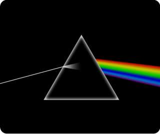 Pink Floyd Dark Side Of The Moon Heavy Duty Mouse Pad 1/4 Think Rubber