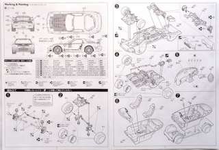 Fujimi ID 153 Mazda RX 7 RE Amemiya GReedy6 1/24 scale kit