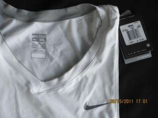 NWT NIKE PRO PADDED BASE COMPRESSION TANK SHIRT 3XL 884499469186