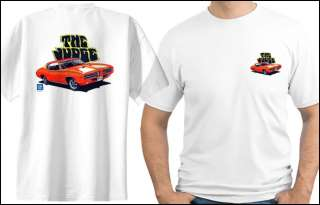 1969 PONTIAC GTO JUDGE MUSCLE CAR T SHIRT #4790 GM